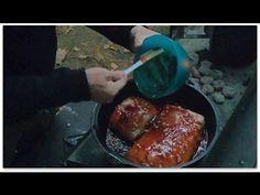 ▶ Dutch Oven Maple Pork Roast with Sweet Potatoes - YouTube
