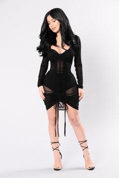Video Girl Dress - Black