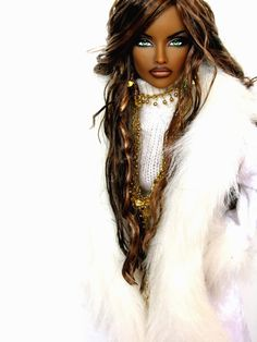 Avantguard Livewire repaint OOAK Fashion Royalty Doll by Claudia