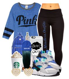 """."" by renipooh ❤ liked on Polyvore featuring Casetify, MCM, NIKE, Married to the Mob and Pixie Grey"