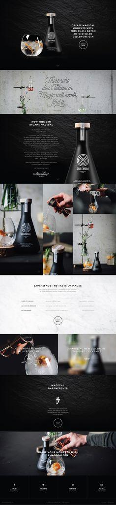 Gillemore. Creating more magical moments. (More design inspiration at www.aldenchong.com)