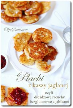Placki z kaszy jaglanej Easy Healthy Recipes, Easy Meals, Healthy Food, Breakfast In Bed, Something Sweet, No Bake Desserts, Pancakes, French Toast, Cooking Recipes