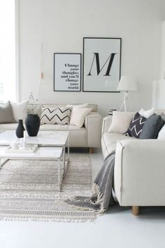 77 Gorgeous Examples of Scandinavian Interior Design Light-Scandinavian-living-room