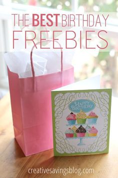 This list has THE best birthday freebies to make your day special, without the hassle of percentage off coupons. Free On Your Birthday, It's Your Birthday, Birthday Deals, Happy Birthday, Birthday Rewards, Birthday Coupons, Birthday Stuff, Birthday Month, Special Birthday