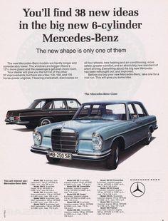 1965 Mercedes Benz Ad