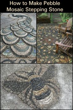 Creating custom pebble mosaic stepping stones for your garden! - Add Color and . - Creating custom pebble mosaic stepping stones for your garden! – Add Color and Function To Your -