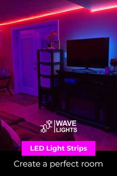 Ordinary lights can only do much to create a vibe but LED strip light is a game changer. Just with a flick of a button and you have whole thing in control. Change the colors all you want! Click here to order now. Led Light Strips, Led Strip, Alexa Echo, App Control, Cutting Tables, A Whole New World, Get The Party Started, Stay Cool, Gaming Setup