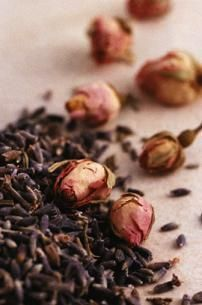 Uses of dried rose petals around the house...