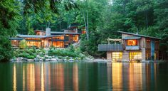 The Muskoka Cottage won for Best Project in the Open Category at the Ottawa Housing Design Awards in 2013.