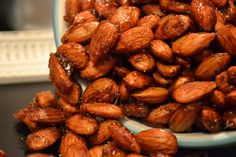Making Miracles: #handcraftededibles ~ Honey Roasted Almonds