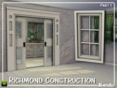 New construction set based on a Richmond Hill window I fell in love with. This is part 1. There will be 3 parts. Second part will have more doors, arches and windows. 3 Part will have more windows...
