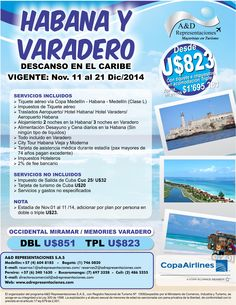 Habana y Varadero http://www.adrepresentaciones.com/