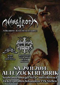 Black Metal 1st Kreig Alter, Black Metal, Festivals, Tours, Movie Posters, Movies, Rostock, 2016 Movies, Film Poster
