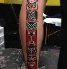What does totem tattoo mean? We have totem tattoo ideas, designs, symbolism and we explain the meaning behind the tattoo. Totem Tattoo, Tattoos With Meaning, Ideas, Design, Meaning Tattoos, Meaningful Tattoos, Design Comics, Thoughts
