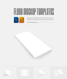 Blank Flyer Templates (Psd)