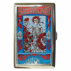 GRATEFUL DEAD LIVE IN CONCERT Cigarette Money Case ID Holder or Wallet!