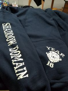 You asked, we listened. We just got a new batch of our Shaddow Domain Ouija hoodies in pullover form!
