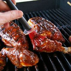 Recept voor amerikaanse honing barbecue saus. Deze saus doet het goed op kip, karbonade en spare rib.