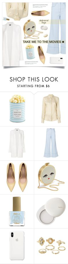 """Movie Time"" by marina-volaric on Polyvore featuring Isabel Marant, Joseph, Miu Miu, ncLA, lilah b., Apple, Charlotte Russe and statementbags"