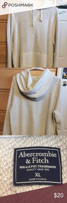 Abercrombie & Fitch Knit Hoodie Abercrombie & Fitch Knit Hoodie Size XL  In perfect condition, never been worn  Very warm Great gift  Tap in Abercrombie & Fitch Sweaters