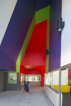 3d Renderings Elementary School Interiors By Cubic Meter Via Behance School Decor Ideas