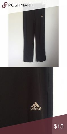 Adidas pants Size large, 30' inseam. No pockets. Climalite poly/spandex blend. Adidas Pants