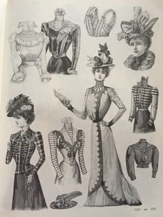 Victorian fashions a pictorial archive 15