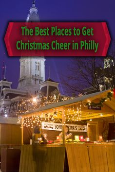 The Christmas Village in Philadelphia is an authentic German Christmas market and one of my favorite Christmas things to do in Philly. Click the link to see the rest of the list: http://uncoveringpa.com/christmas-things-to-do-in-philadelphia