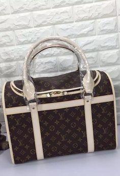 4912086e4ba The Louis Vuitton Dog Carrier