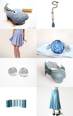 Vintage Blue by Christy on Etsy--Pinned with TreasuryPin.com
