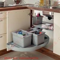 poubelle sous évier à sortie totale lmpou6291gr | poubelles pour ... - Meuble Cache Poubelle Cuisine