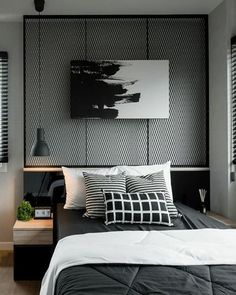Stylish Industrial Style Bedroom Design Ideas - lmolnar Stylish Industrial Style Bedroom Design Ideas - Home Design - lmolnar - Best Design and Decoration You Need Industrial Bedroom Design, Bedroom Minimalist, Suites, Contemporary Bedroom, Modern Bedroom Decor, Scandinavian Bedroom, Modern Decor, Home Bedroom, Bedroom Small