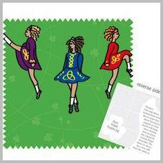 Irish Step Dancer Gift Wrap!