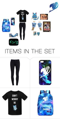 """""""Fairy Tail"""" by panda-neko ❤ liked on Polyvore featuring art"""