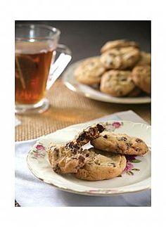 עוגיות קראנץ' שוקולד צ'יפס (הגדל)