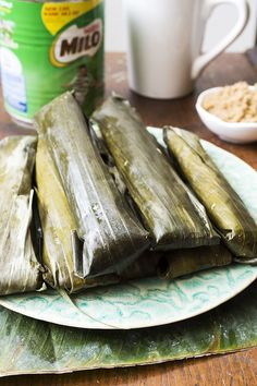 How to Cook Suman that Actually Tastes Like Suman Plus Video- A Filipino snacks which was drench with sticky rice drench in coconut milk and then wrapped in banana leaves