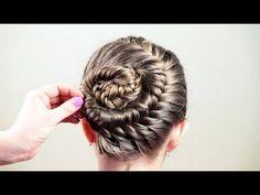 Причёска для школьницы. Hairstyle for schoolgirl