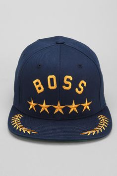 Undefeated Boss Snapback Hat