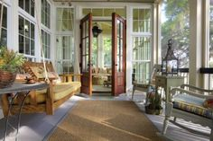 Rear Porch - rustic - porch - charleston - by Group 3