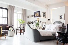 This Might Be One Of NYC's Most Gorgeous Lofts #refinery29  http://www.refinery29.com/one-kings-lane/13#slide-11