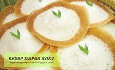 Resep Cara Membuat Kue Apem Selong Lembut Istimewa Enak Khas Surabaya. Berikut resepnya...