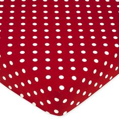 Sweet JoJo Designs Polka Dot Ladybug Fitted Crib Sheet   Overstock.com Shopping - The Best Deals on Baby Bed Sheets