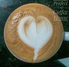 Back to basics #heart #perfectcupch #coffee #dailycoffee #cafe #espresso #latteart #flatwhite