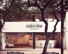 Casa del Agua by Héctor Esrawe #interior #design #water #wood