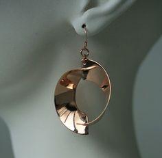 Twins-orecchini gioiello placcatura oro rosa in vendita on line sul nostro sito