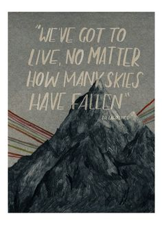 """""""Skies,"""" a digital print based on a D.H. Lawrence quotation, created by Scotland's Lizzy Stewart. ($33.65)"""