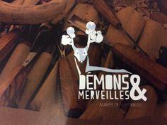 © Jeason POURCELET - Couverture charte graphique Démons & Merveilles, marque de jouets en bois et tissus issue des Ardennes belges