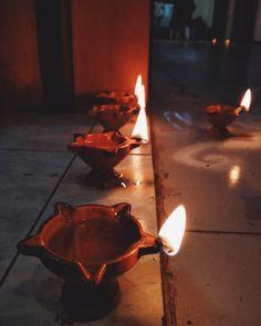 Happy Diwali! Diwali Lights, Happy Diwali, Rangoli Designs, Birthday Candles, Festive, Indian, Lighting, Wall, Instagram Posts