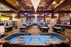 Hyatt Regency Casino features 21 gaming tables, 255 slot machines