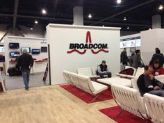 16. Trade shows are the primary point of contact between the company and customers.  The customers then use Broadcom technology in their products for consumers to use. Broadcom serves as a nice supplement to other products in today's market place.